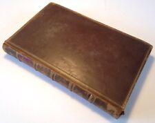 D. JUNII JUVENALIS ET AULI PERSII FLACCI SATYRAE, 1763 Leather Bound