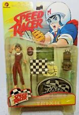ReSaurus Speed Racer Trixie Action Figure With Racing Flags Resaurus (MOC)