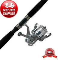 Abu Garcia Cardinal Bruiser Spinning Reel and Fishing Rod Combo Saltwater 8ft