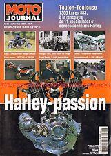 MOTO JOURNAL HS HARLEY DAVIDSON PASSION 1997 XRTT 750 VR 1000 1200 Sportster