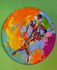 Royal Doulton Leroy Neiman ' Harlequin ' plate. 1974 First series 8348 of 15K.