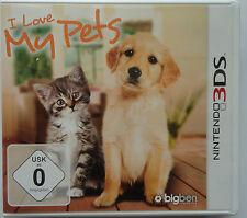 I Love My Pets Nintendo 3DS Ziehe deine Hunde und Katzen auf (2015)