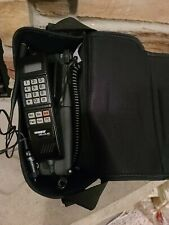 Vintage Motorola Car Phone In Leather Case