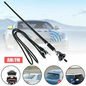 """Car Auto Stereo FM & AM Radio Amplified Signal Antenna Universal 16"""" Roof Fender"""