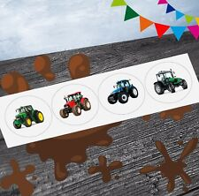 Tractor Mix Farm Party Stickers (Pack of 12) Party Goody Bag Fillers Girls Boys