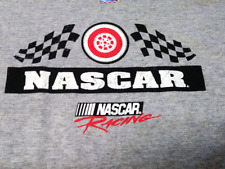 Delta Pro Weight Gray NASCAR Racing Wheel In T-Shirt Size XL NEW NWT