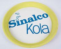 Sinalco Kola Original Vintage Reklame Tablett Blech 50/60er Wand Dekoration