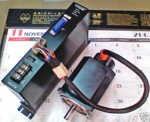 CNC VEXTA NEMA34 AC Servo motor & drive Replace stepper pulse & dir Controller