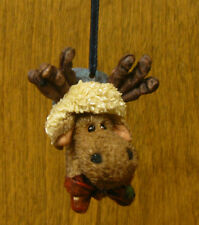"Boyds Ornament(s) #25808 JINGLE MOOSELBEARY...TIS THE SEASON, 2.5"" NEW/Box"