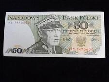 1988 Polonia 50 Zlotych Billete