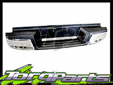 REAR BUMPER BAR CHROME SUIT HOLDEN RODEO RA 03-08 STEP 4WD 2WD LX LT