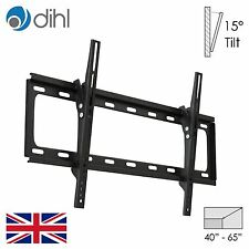 "Dihl Tilt Wall Mount Bracket 40 43 50 55 60 65"" Led Lcd Plasma Tv Vesa"