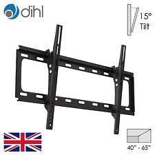 "Dihl Tilt Wall Mount Bracket 40 43 50 55 60 65"" LED LCD Plasma TV VESA"