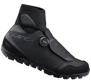 Shimano MW7 Mountain Bike BOA MTB Winter Shoes Black MW701 - 46 (US 11.2)