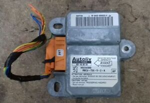 Peugeot 307 CC Siemens Convertible Roll Over Airbag ECU SRS Air Bag 9652363880