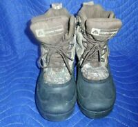 OZARK TRAIL MENS Size 7 Winter Boots -5F Thinsulate 3M Realtree Camo Cold Snow