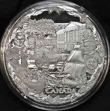 2008 Canada $250 One Kilogram Fine Silver Coin Towards Confederation - Low CoA#