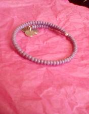 Alex & Ani Natural Wonders Canopy Purple Beaded Bracelet Wrap Rare Retired