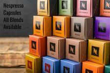 NESPRESSO COFFEE CAPSULES PODS GENUINE - CHOOSE MIX & MATCH ANY QUANTITY