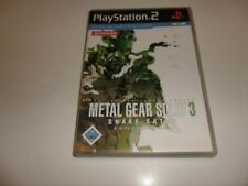 PLAYSTATION 2 PS 2 Metal Gear Solid 3: Snake Eater (8)