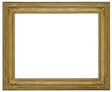 20 x 24 Arts & Crafts Style Picture Frame Hand Applied Gold Leaf Beautiful Style