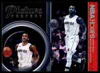 2018-19 NBA HOOPS PICTURE PERFECT JOHN WALL WASHINGTON WIZARDS #PP-9 INSERT