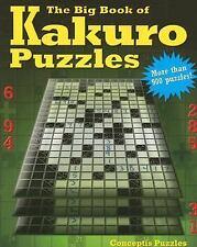 The Big Book of Kakuro Puzzles-ExLibrary