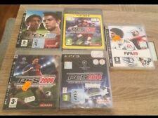 LOTE PACK PS3 FIFA 09 PES 2008 2009 2011 2014 NUEVO PRECINTADO PAL ESPAÑA
