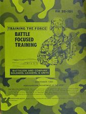 FM 25-101 Battle Focused Training Battalion And Company Department Of Army 1990