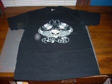Zz Top! Winged Skull 2005 Tour Black T-Shirt Medium