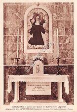 Cartolina - Postcard - Pantasina - Altare S. Rita - Votivo dei Caduti in Guerra