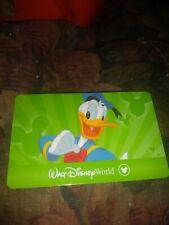 Disney * 3 Day Park Hopper Card NO VALUE * CKJKD