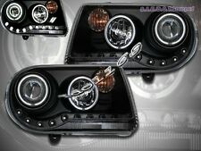 2005-2010 CHRYSLER 300C / SRT-8 BLACK PROJECTOR HEADLIGHTS CCFL HALO