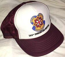 Vtg 144th EVACUATION HOSPITAL HAT Rare Cap U.S ARMY MILITARY DOCTOR Nurse UTAH