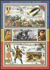D1301 2016 CHAD HITLER & STALIN WORLD WAR II WWII BATTLE MOSCOW !!! FULL SH MNH