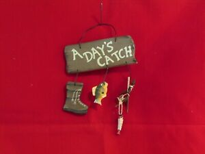 """""""A Day's Catch"""" Wall Decoration"""