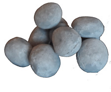20 Replacement FAKE STONES HIGH THERMAL RESISTANTCeramic Grey Pebbles 4Coal Fire