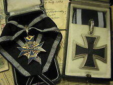 WW1 WWI German Prussian Pour Le Merite Blue Max Grand Iron Cross General Set