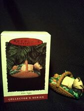 Hallmark Keepsake Christmas Ornament 'Cat Naps' 1996 #3 in Series Collectible