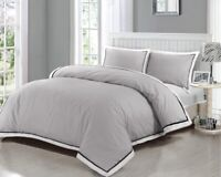 Duvet Cover 400 Thread Count 100% Egyptian Cotton Bedding Sets Double King Size