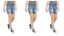 Lot Of 3 Zanadi Women's Plus Americana Embellished Shorts Size 8 NEW NWT