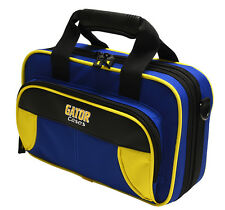 Gator Spirit Series Lightweight Clarinet Case Yellow & Blue   GL-CLARINET-YB