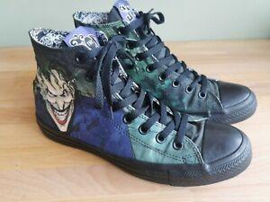 DC The Joker Converse All Star Mens Size 8 High Tops