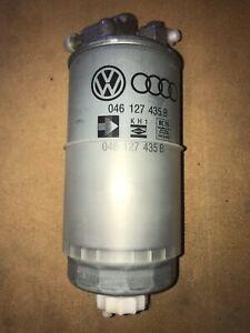 AUDI Genuine Makers Diesel Fuel filter with flange 028127401A  046127435B NOS