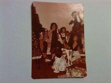 Vintage 60s 70s Photo Filipino Christmas X-Mas Morning Tippy Tumbles Toy Clothes