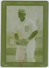 MIGUEL CABRERA 2013 TOPPS TURKEY RED- YELLOW PRINT PLATE 1 of 1
