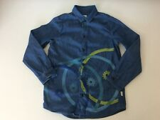 Paul Smith Boys Long Sleeve Denim Shirt, Size Age 8a, Blue, VGC