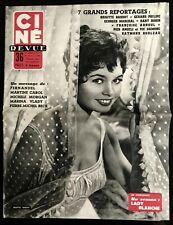 Ciné Revue 29/04/1955; Brigitte Bardot/ Gabin/ Dany Robin/ Jerry Lewis/ Raft Geo