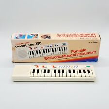 FOR PARTS🔻 Realistic Concertmate 350 Monophonic Electronic Keyboard Synthesizer