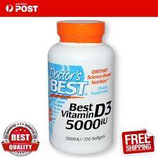 Doctor's Best Vitamin D3 5000 IU 720 Capsules